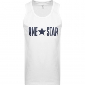 Converse One Star Vest T Shirt White